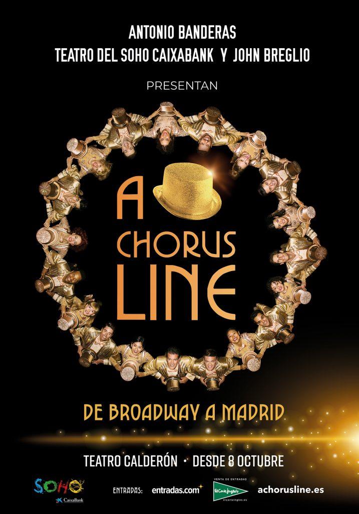 Cartel A Chorus Line Madrid